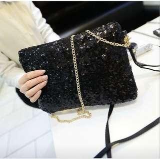 🚚 Sparking Bling Sequin Sling Bag