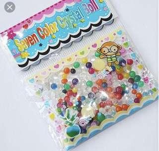 7 colours crystal balls magic water beads water babies