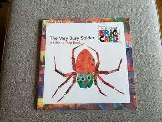 Eric Carle lift-the-flap book - the very Busy Spider