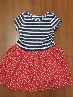 [FREE DELIVERY] Pumpkin patch sailor dress #xmas50