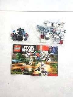 Lego Star Wars 7655 Episode III Clone Trooper Battle Pack Brand New