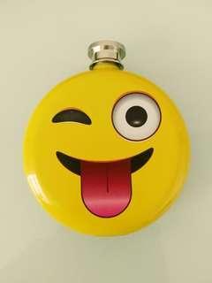 [New] Emoji Flask Stainless Steel 口袋型不銹鋼小洒瓶(5oz)