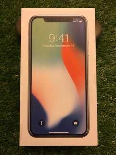 iPhone X 配件 only original box + charger + 3.5 adapter