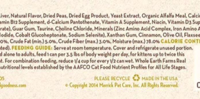 🥫 品名:Whole Earth Farm 雞肉無穀主食罐 156g