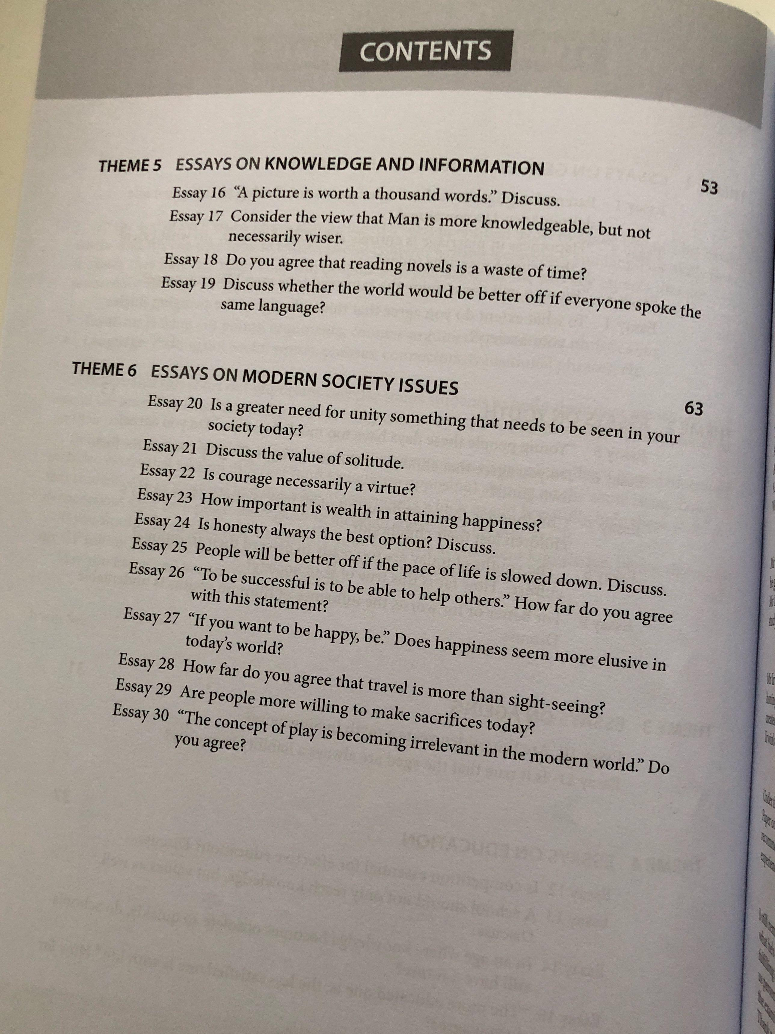 Www Oppapers Com Essays  Essays On Health Care Reform also Poverty Essay Thesis A Level General Paper Gp Model Essays Volume  Books  English Reflective Essay Example