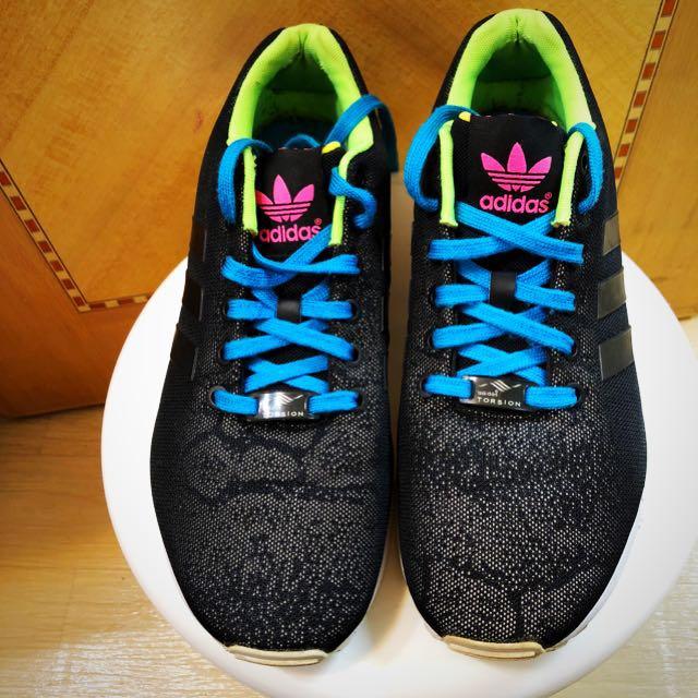 best service e5902 493cd Adidas originals ZX flux reflective snake 3M反光物料波鞋