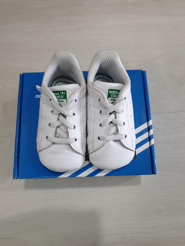 best service e3201 dc9cc Adidas Stan Smith Infant shoe (2C) price negotiable, Babies   Kids ...