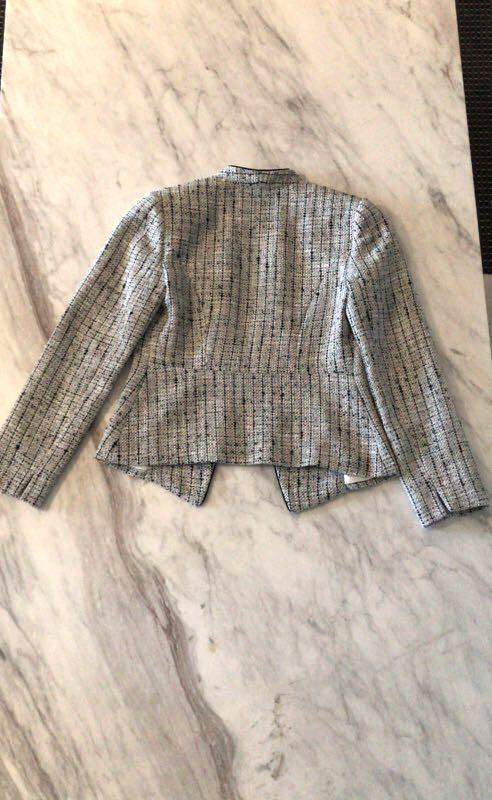 Anthea Crawford tweed jacket size 8