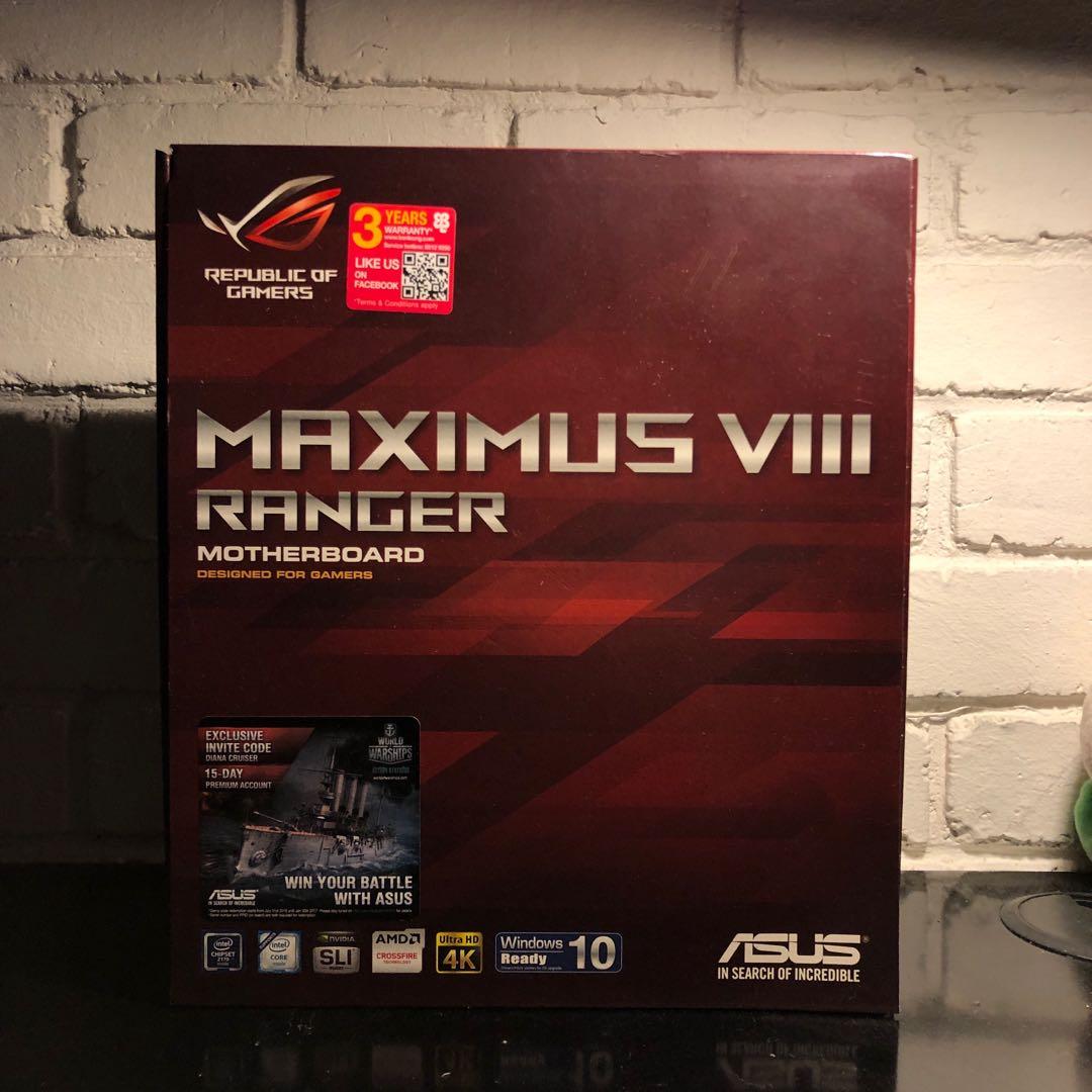 ASUS Maximus VIII Ranger Motherboard