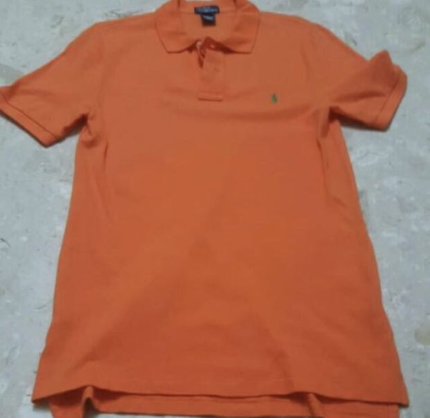 56b4376b Authentic BN Polo by Ralph Lauren Men Orange Polo Tshirt, Men's ...