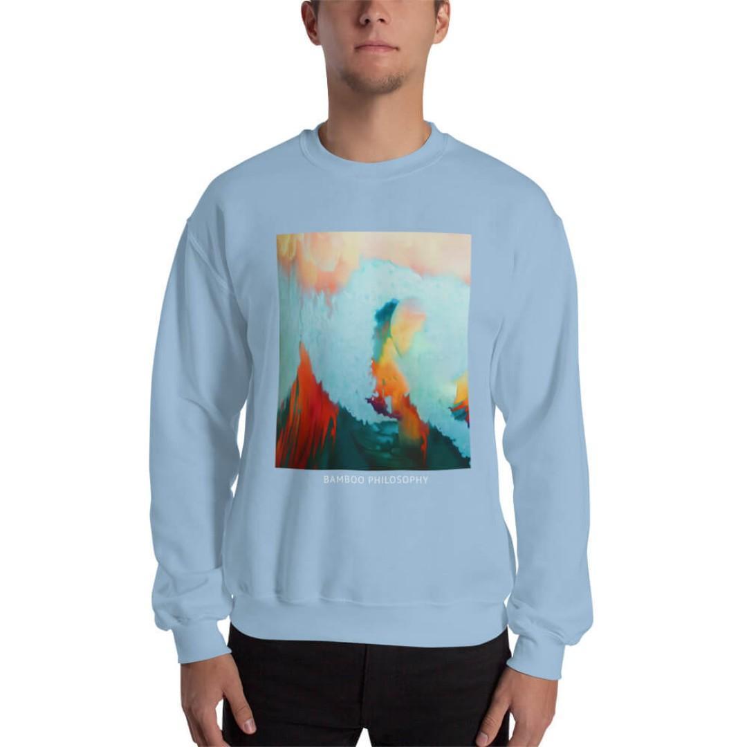 Bamboo Philosophy Sweatshirt| Entrepreneur | Motivational | Inspirational | Brand New y Waves & Cloud |