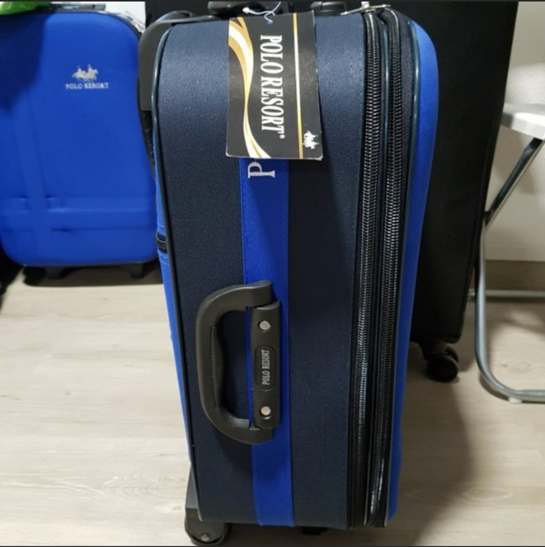 5e4df79d35 Brand New Luggage Cabin Size Polo Resort, Travel, Travel Essentials, Luggage  on Carousell