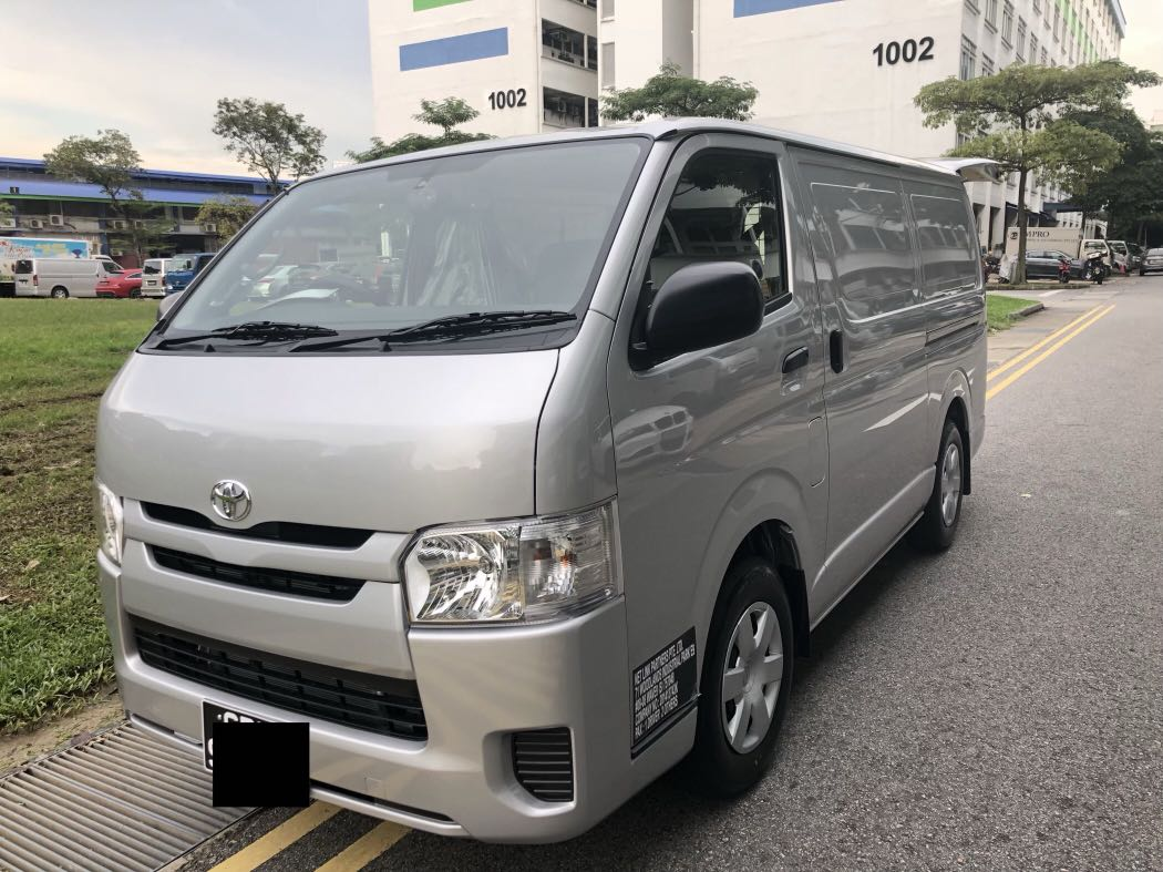 7660499613 Brand new Toyota hiace van