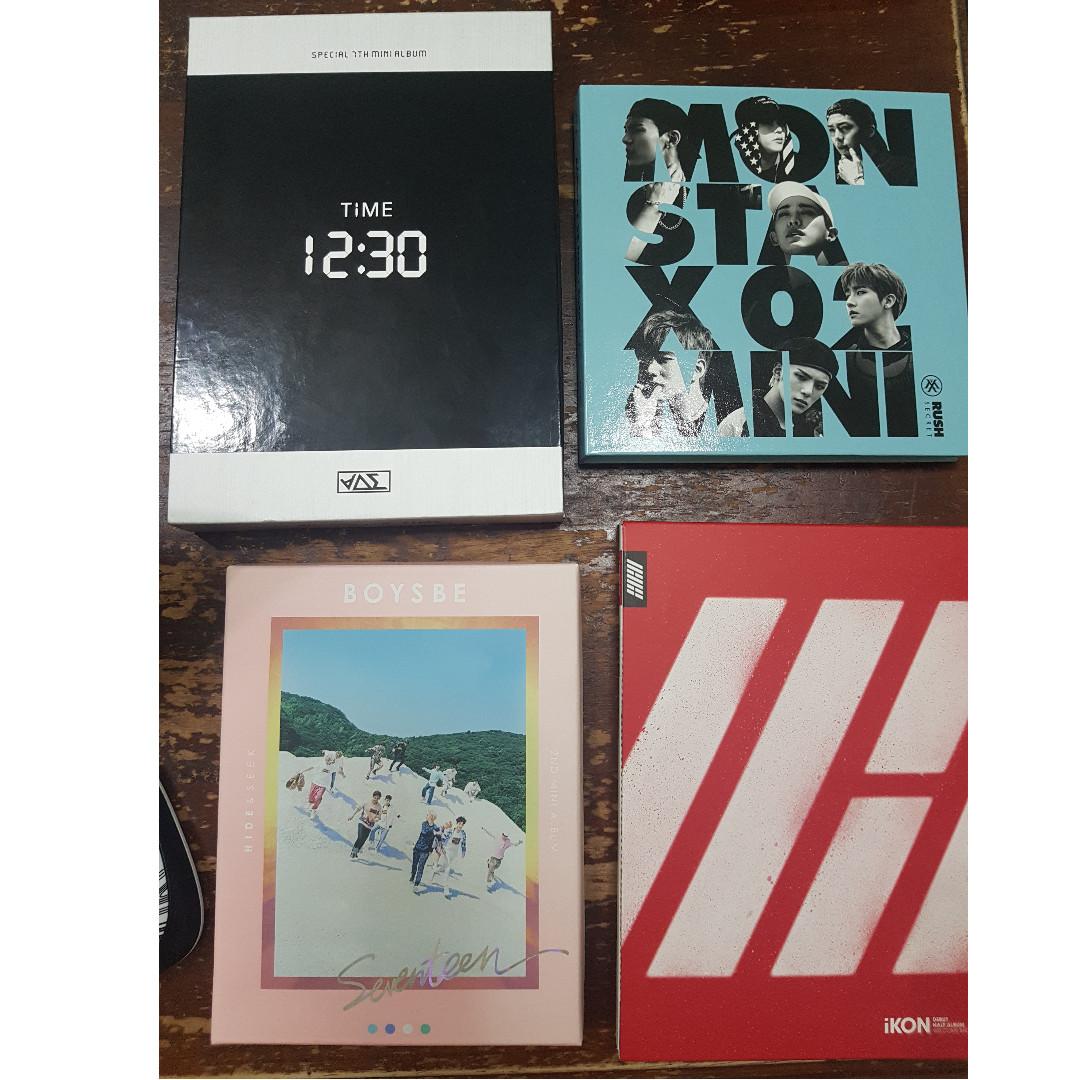 iKON Entertainment Memorabilia 2nd album Return Official