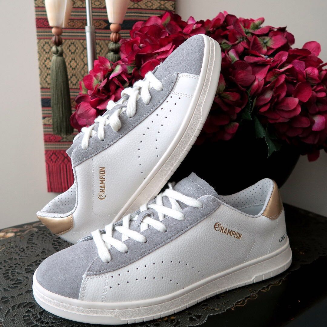 2e75a17e1824f Champion Court Club Leather New Authentic Sneakers Shoes