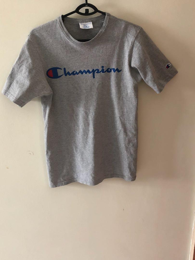 e15a34e9 Champion Reverse Weave grey t-shirt, Men's Fashion, Clothes, Tops on ...