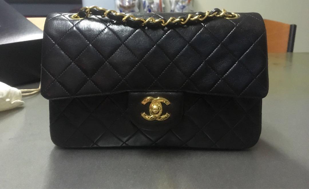 cda5632d0f4c Chanel 9 inch double flap bag, Luxury, Bags & Wallets, Handbags on ...