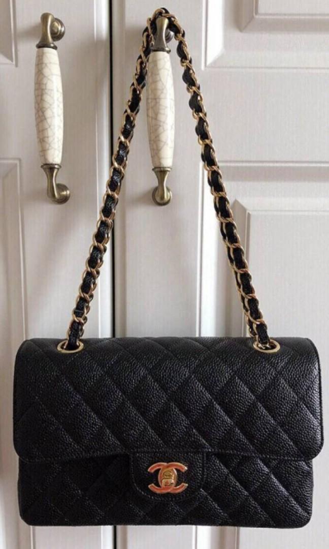 3fec196b7e Classic chanel handbag, Women's Fashion, Bags & Wallets, Handbags on ...