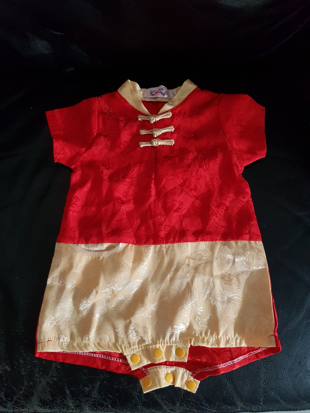 89f3d5de13a CNY Romper for Baby Boys