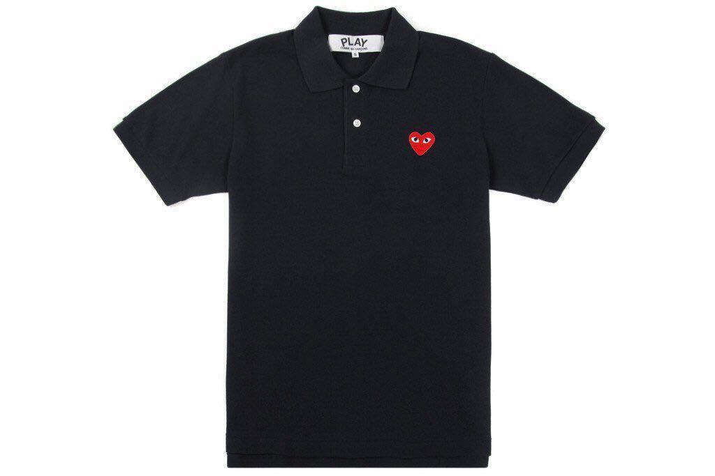 c65e855b9 Comme des Garcons PLAY Polo Shirt