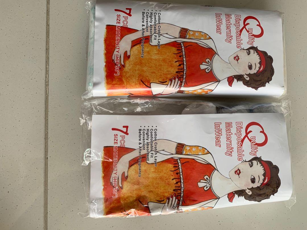 bb036bcb0063 Disposable maternity underwear panties, Babies & Kids, Maternity on ...