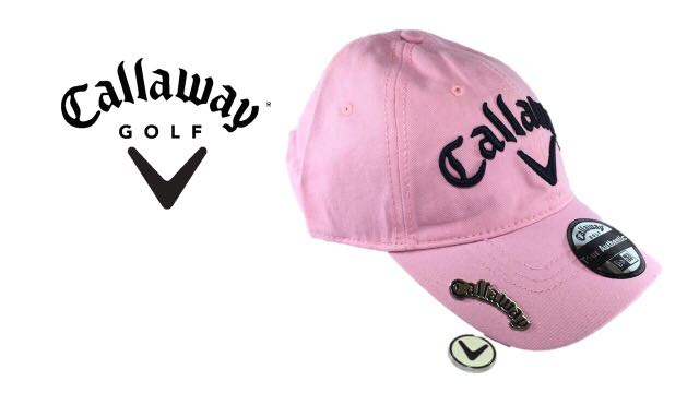 Golf cap with magnetic ball marker b7cab279213