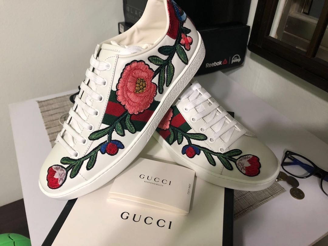 985fac4d5f6 Gucci Ace Embroidered Sneaker