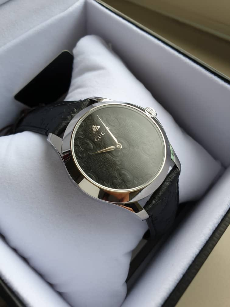7abbdfe0555 Gucci G-Timeless Black Dial Men s Watch YA1264031
