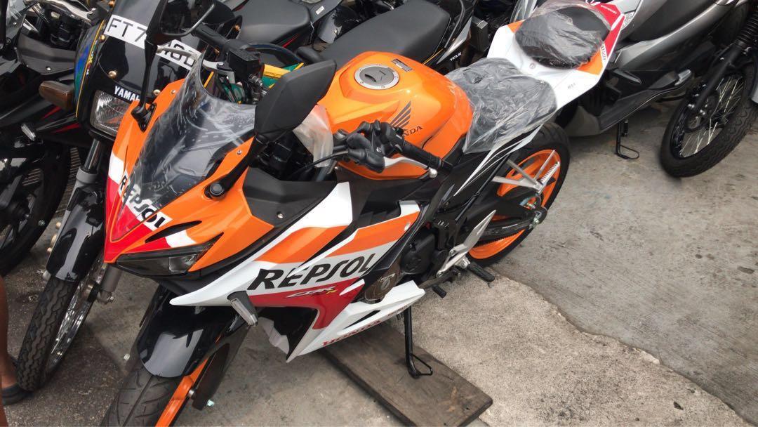 Honda Cbr150r Repsol New Motorbikes Motorbikes For Sale Class