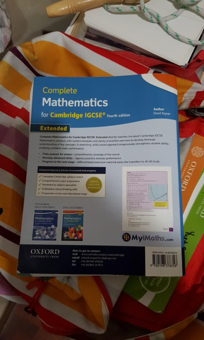 Cheap Pre Loved IGCSE Textbooks