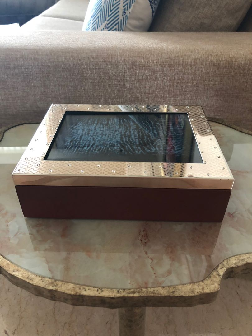 Jewellery Box With Picture Frame Cover Everything Else On Carousell