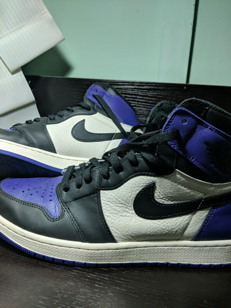 best loved e3c41 95be7 Jordan 1 court purple