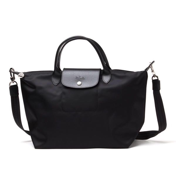 7253939b529b Longchamp new year sale 1515 medium size neo sling bag black ...