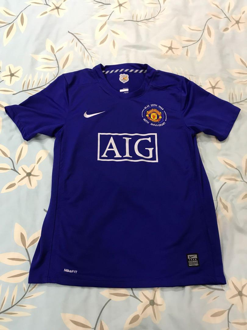 online store 863ce 75c22 Manchester United 08/09 Away Jersey (Youth Size), Sports ...