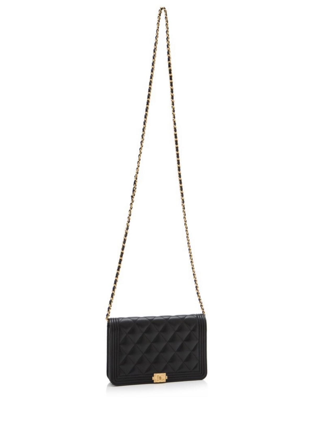 1247a57417d4 New chanel boy wallet on chain, Luxury, Bags & Wallets, Sling Bags ...