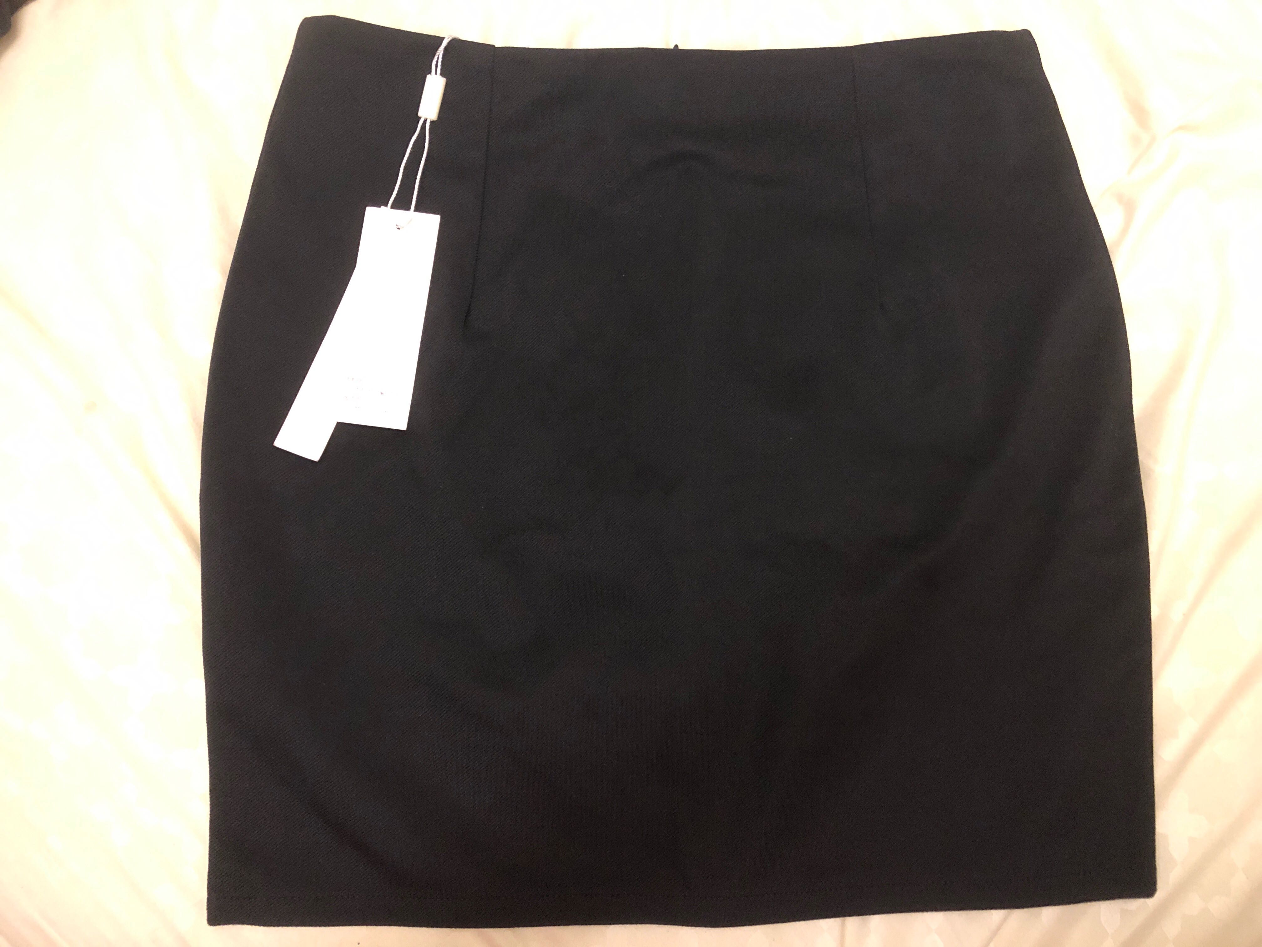 77762b95be OL Black Skirt, Women's Fashion, Clothes, Dresses & Skirts on Carousell