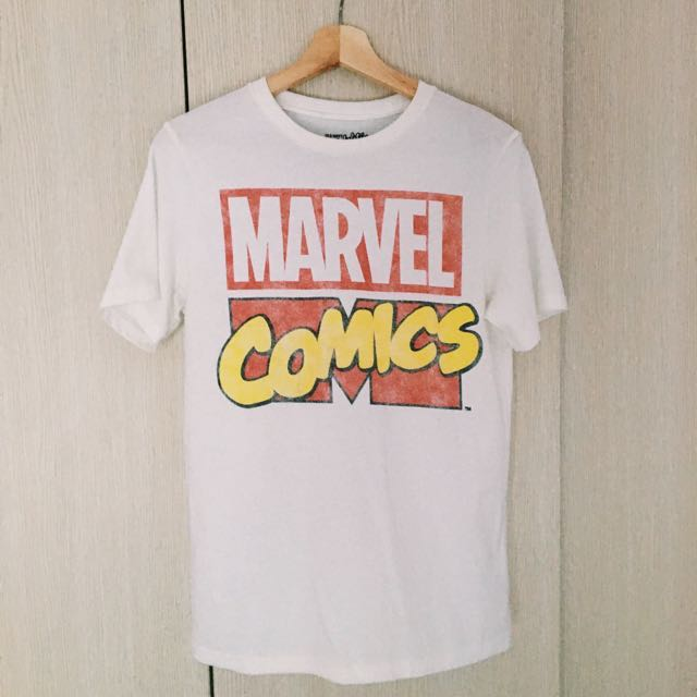 Old Navy Marvel Comics T Shirt Men S Fashion Clothes On Carousell