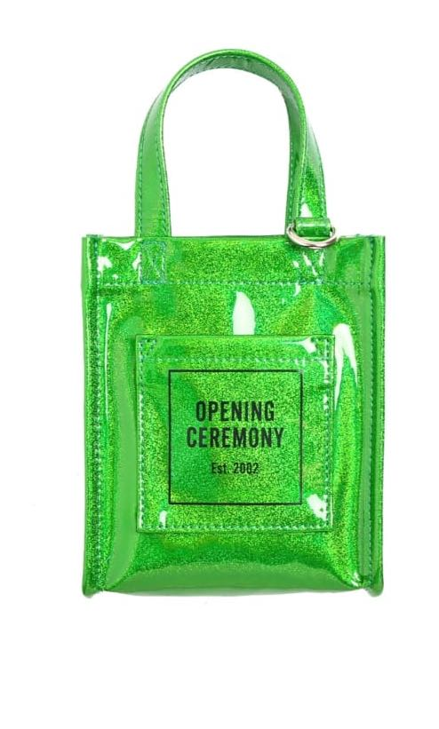 6949f14e8417 Opening ceremony mini glitter bag