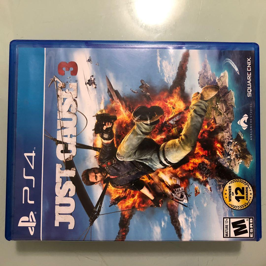 Ps4 PlayStation 4 just cause 3 gta red dead