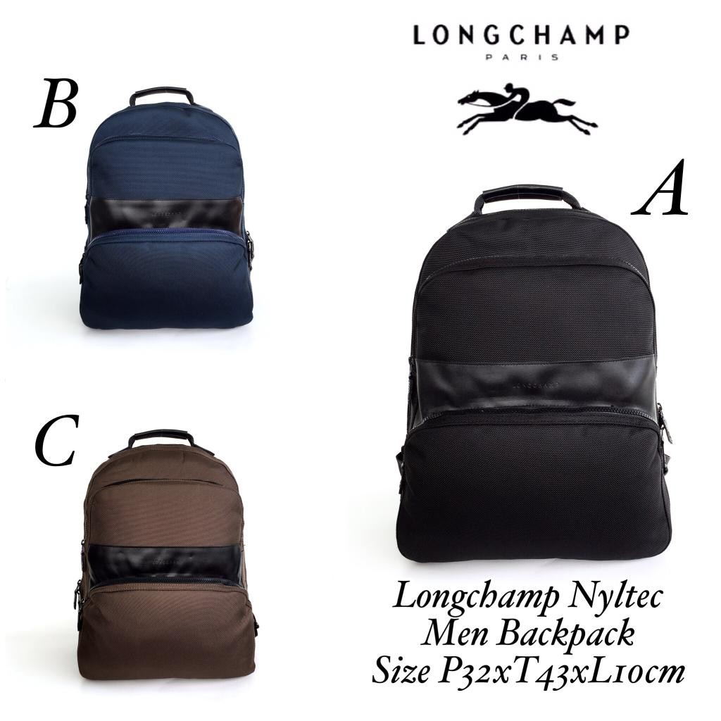 READY    Name   Longchamp Nyltec Men Backpack Size   P32xT43xL10cm Harga    1.350.000 Berat   0 da5f1da819613