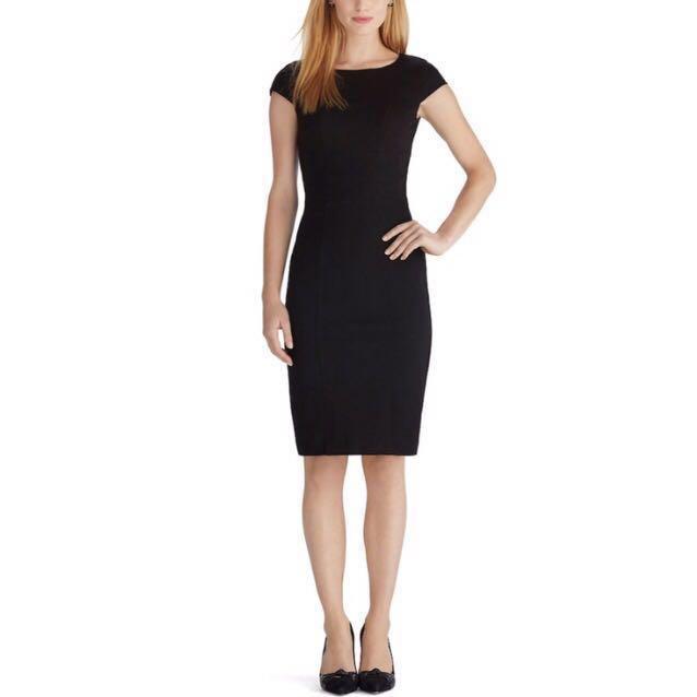 cb7857cd Rebecca Taylor Black Sheath Dress, Women's Fashion, Clothes, Dresses ...
