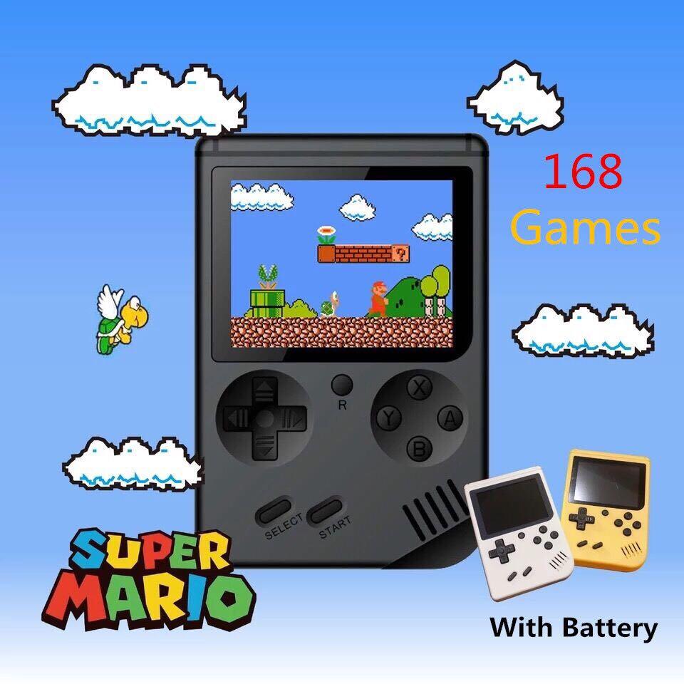 Retro Mini Game Boy Game Console 168 Games in 1