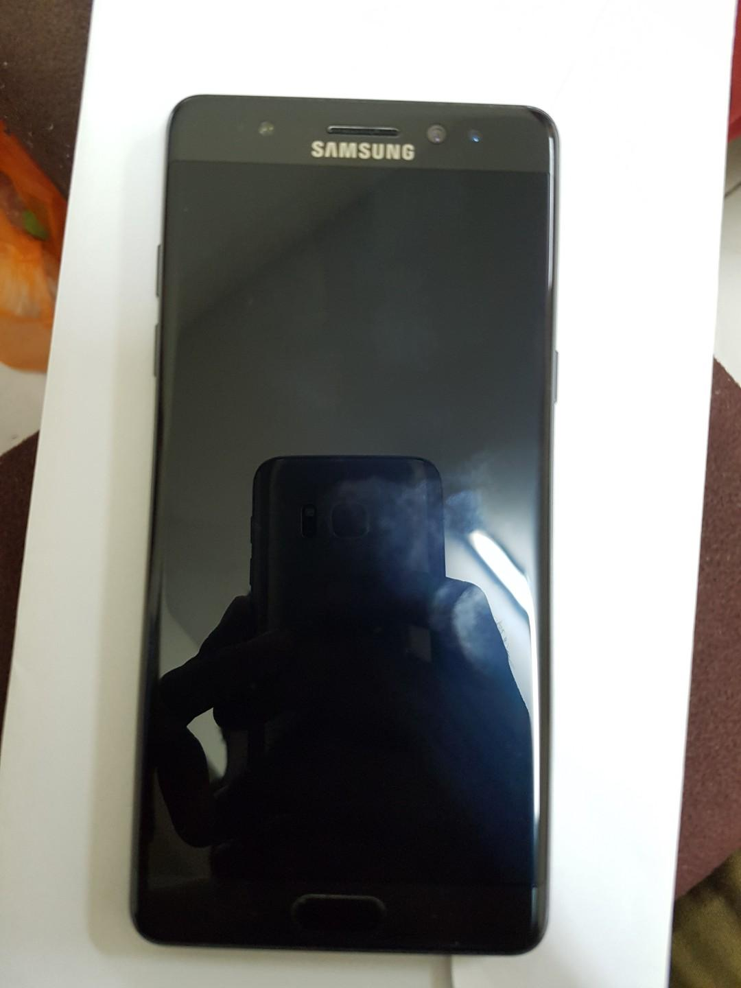 Samsung Galaxy Note Fan Edition Dual Sim Black