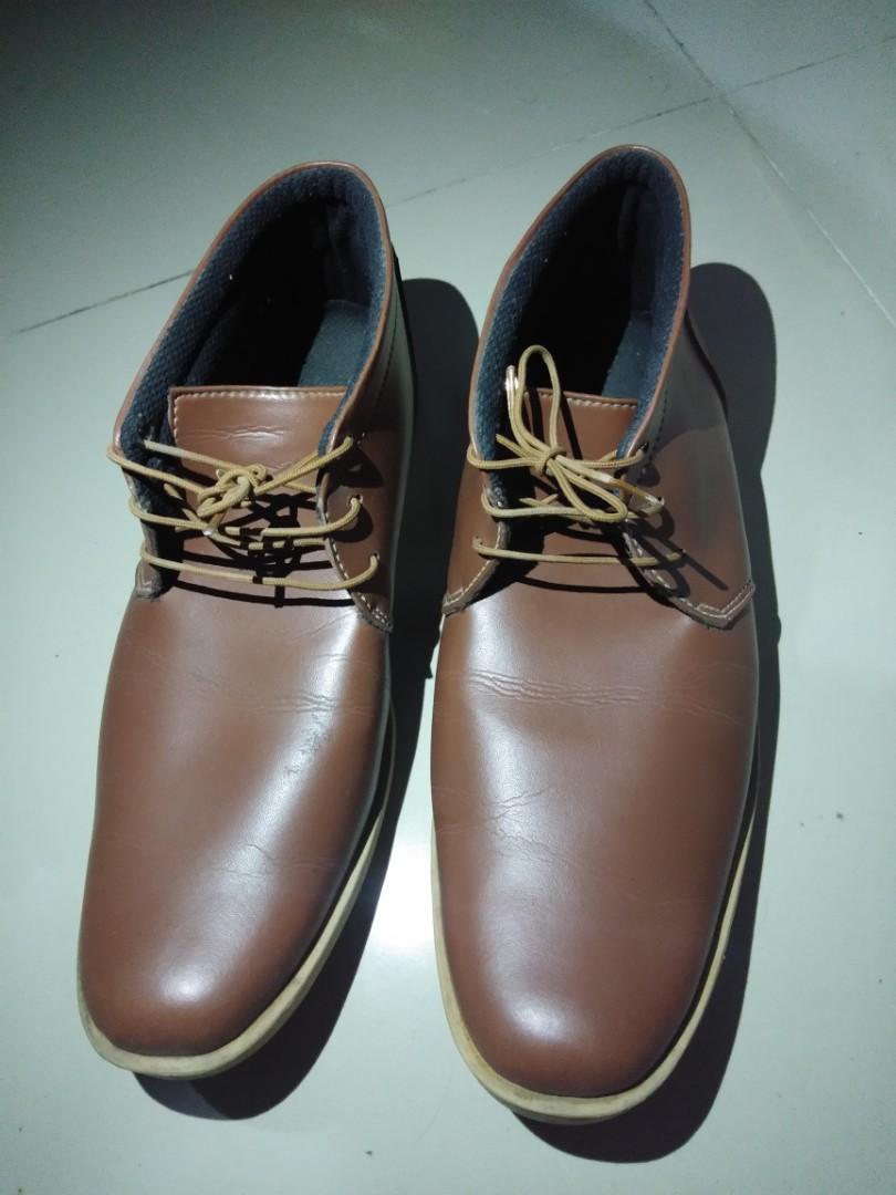 Sepatu kulit coklat 9afee5b60d