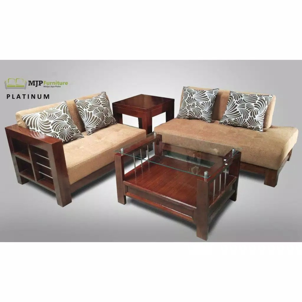Sofa Jati Minimalis Model Eropaan Home Furniture On Carousell