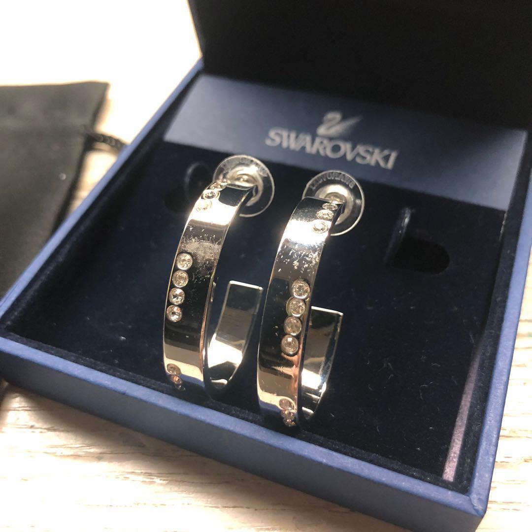 00875bf7f4537 Swarovski earrings, Women's Fashion, Jewellery, Earrings on Carousell