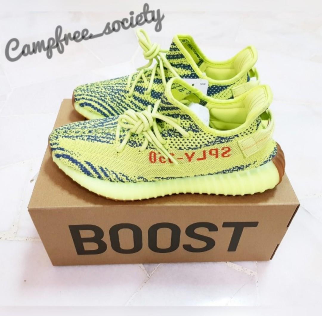 34e6782627390 UK 9 - Adidas Yeezy Boost 350 v2 Frozen Yellow