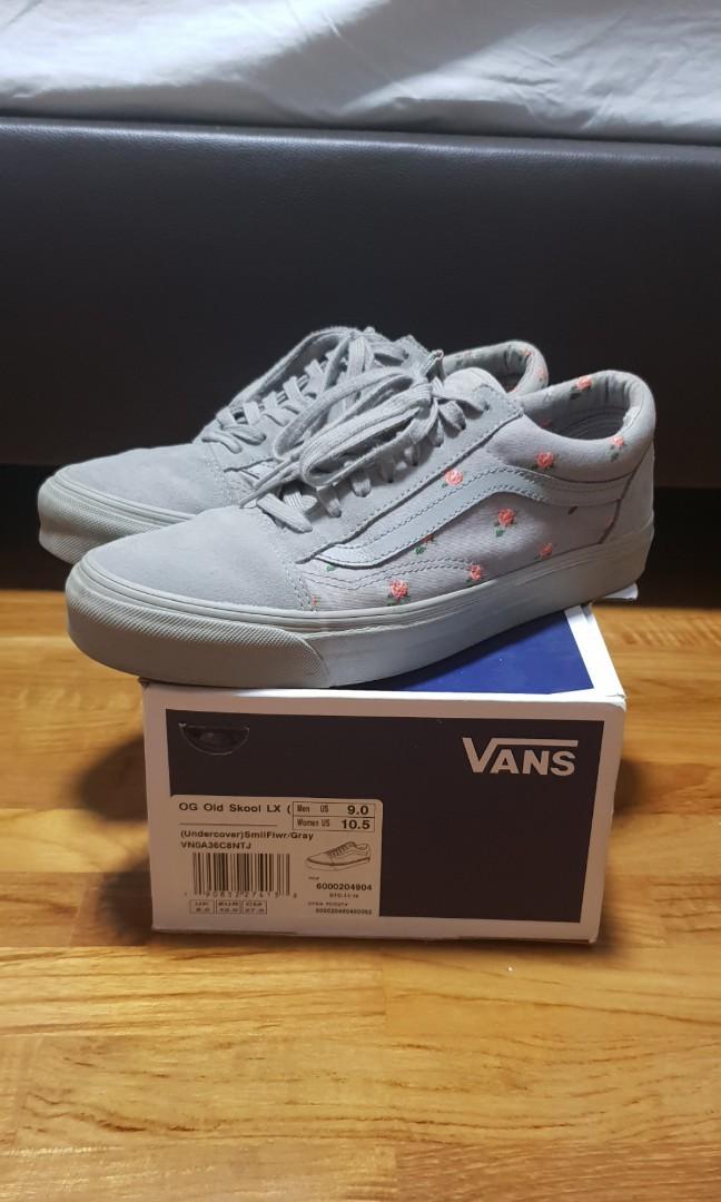 387158a40a75 Vans x undercover grey