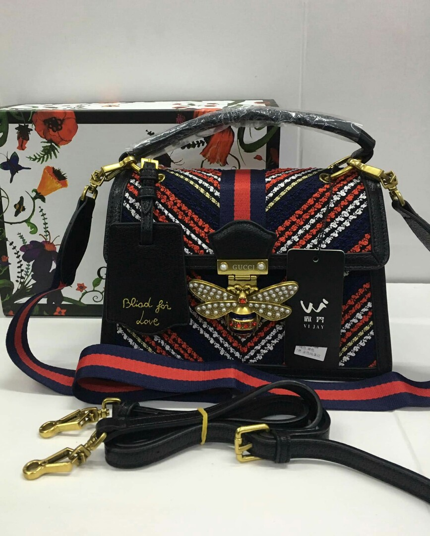 24e005e94de HQ w Serial Gucci Queen Margaret Bag GG Queen Margaret Gucci Tote ...