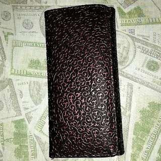 Trendy Fantasy Wallet (Pink/Black)
